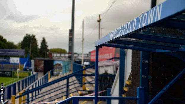 Macclesfield's Moss Rose stadium