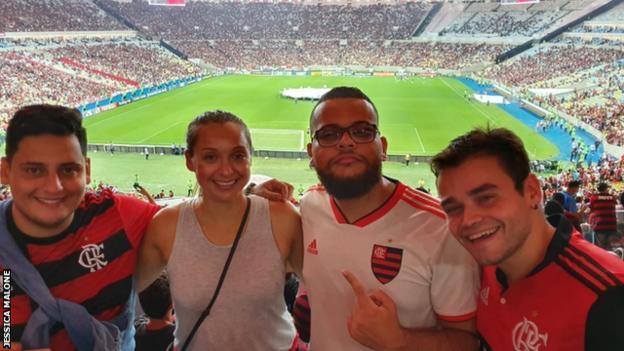 Flamengo v Atletico Mineiro in Rio