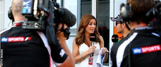 BBC and Sky Sports now share Formula 1 rights