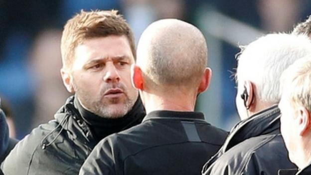 Mauricio Pochettino: Tottenham manager's 'aggressive' actions the reason for two-match ban thumbnail