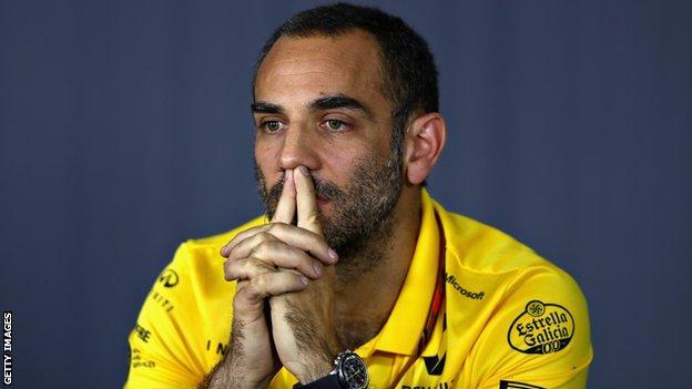 Renault boss Cyril Abiteboul