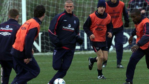 Beckham at Colliers Park