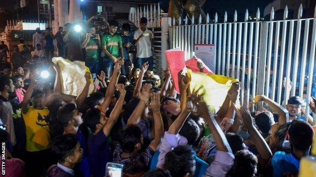 Demonstrations over Shakib Al Hasan's ban