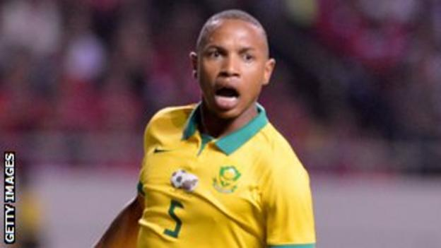 South Africa's Andile Jali