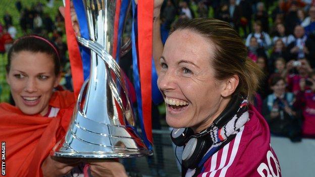Lyon: Sonia Bompastor replaces Jean-Luc Vasseur as French champions' coach thumbnail
