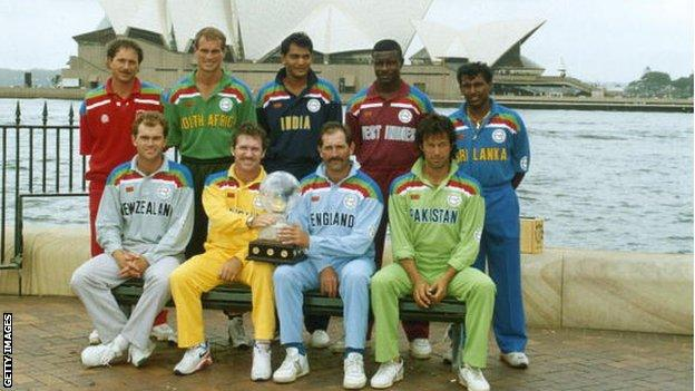 Cricket World Cup captains 1992