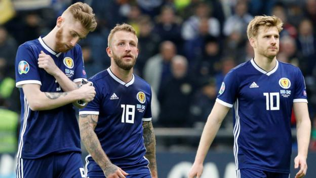 Kazakhstan 3-0 Scotland: Alex McLeish 'let down' by his players - Charlie Adam thumbnail