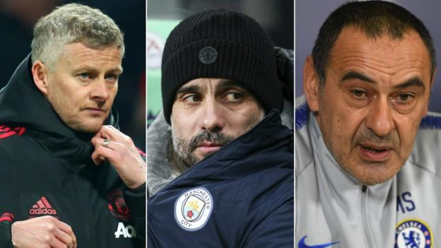 Pep Guardiola: Man City boss says Liverpool, Spurs, Man Utd & Chelsea are title contenders thumbnail