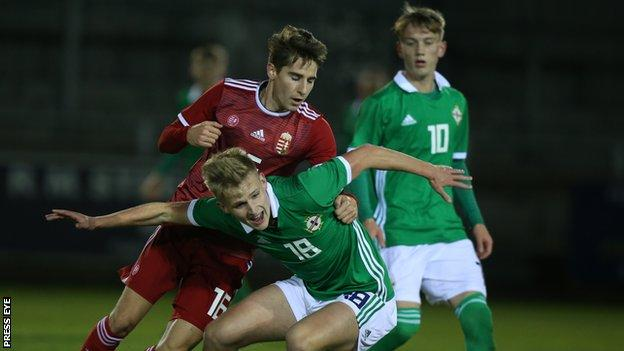 Northern Ireland take on Hungary at Ferney Park