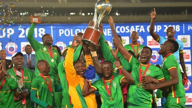 Zimbabwe win 2018 Cosafa Cup