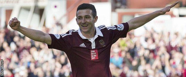 Jason Holt is looking for a new club after turning down an offer to stay at Hearts