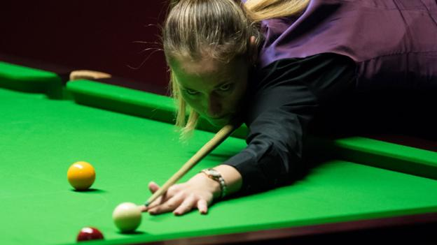 Snooker Shoot Out: Jimmy White beats 11-time women's champion Reanne Evans thumbnail