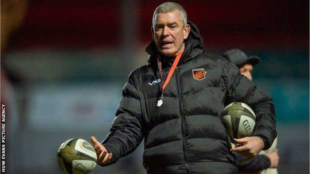 Dragons director of rugby Dean Ryan has had previous coaching stints at Worcester and Gloucester