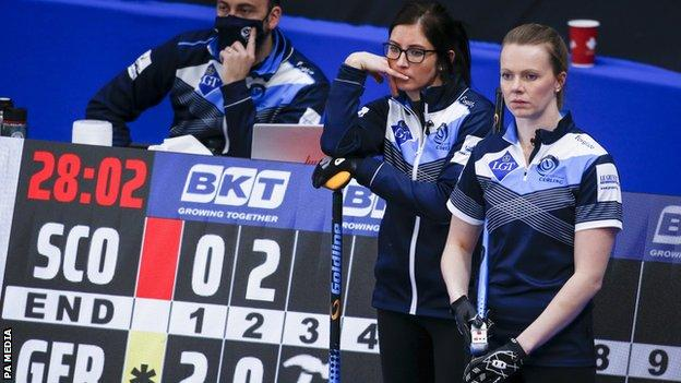 Scotland skip Eve Muirhead and third Victoria Wright