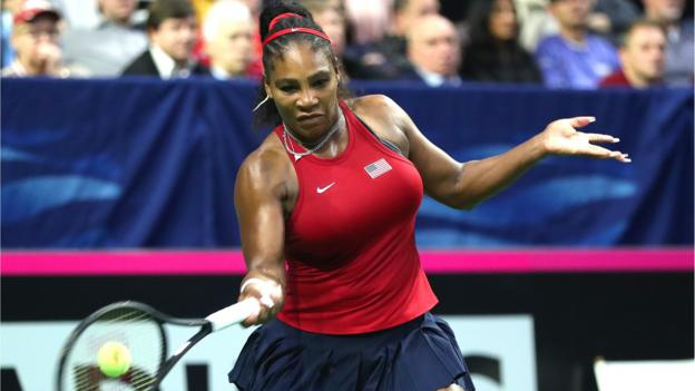 Fed Cup: Serena Williams and Sofia Kenin win as USA lead Latvia thumbnail