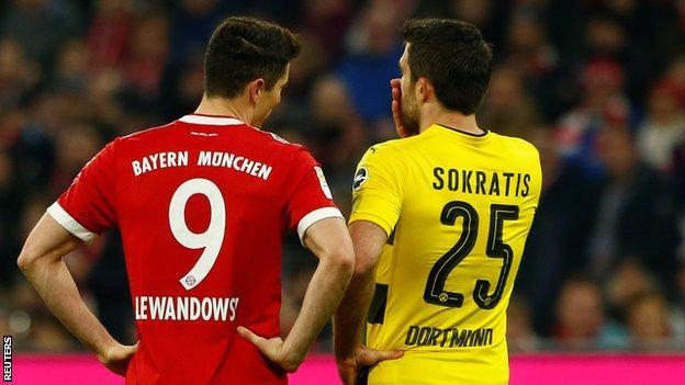 Bayern Munich and Borussia Dortmund