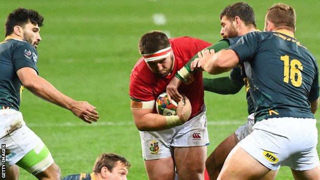 Prop Wyn Jones has impressed for the Lions on tour and scored a try against South Africa A