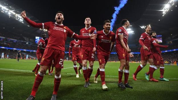 Liverpool entered this season's Champions League at the play-off round but have made it to the semi-finals for the first time since 2007-08