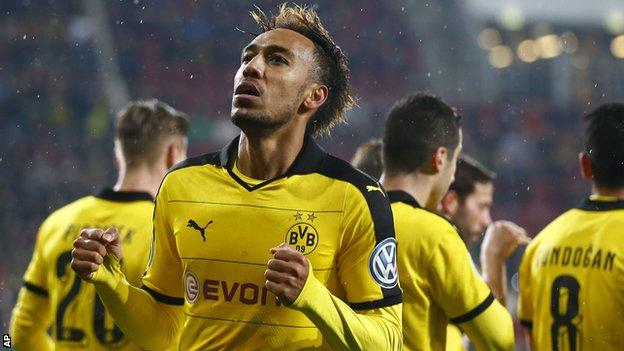 Pierre-Emerick Aubameyang started his career at AC Milan