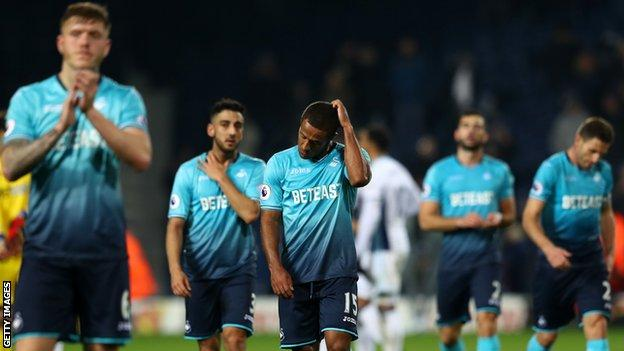 Swansea suffer another away loss