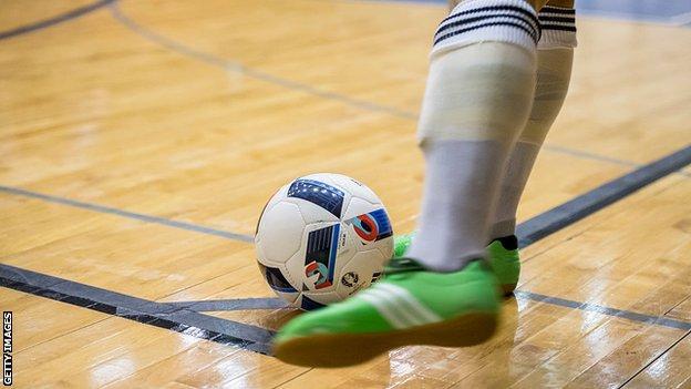 A generic image of a futsal ball