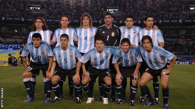 Selección Argentina del Mundial 2006