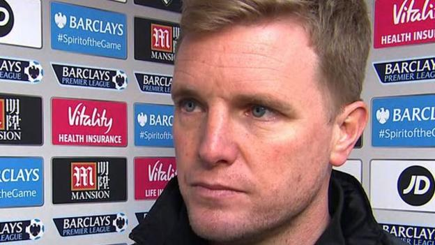 Bournemouth 1-3 Stoke: Potters' early goal cost us- Eddie ...