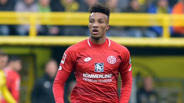 Jean-Philippe Gbamin: Everton sign Mainz midfielder for £25m in five-year deal