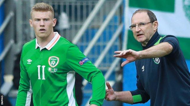 Martin O'Neill says the controversy surrounding James McClean's poppy stance has become an annual event