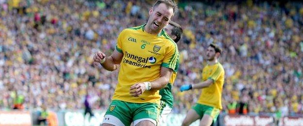 Donegal defender Karl Lacey is named to start in Saturday's All-Ireland quarter-final against Mayo