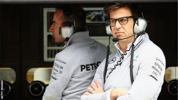 Mercedes boss Toto Wolff