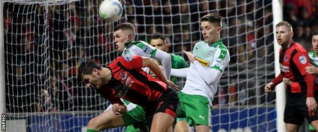 The defeat by Cliftonville leaves Crusaders still seeking their first home league victory since 4 October