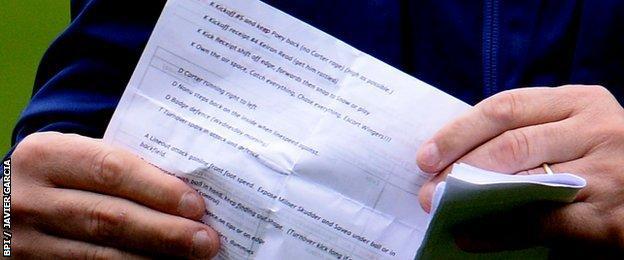 Australia tactics sheet