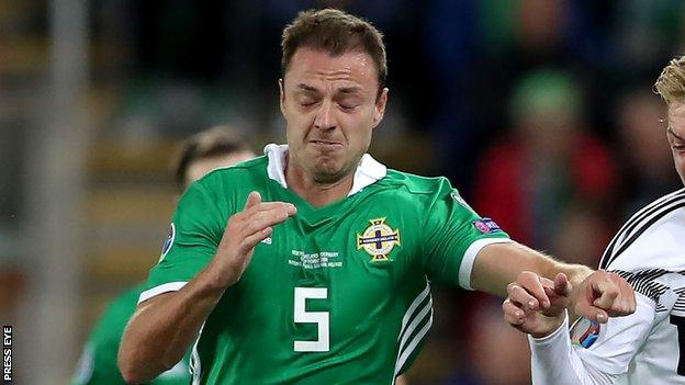 Northern Ireland Jonny Evans In Squad For Euro 2020 Play Off And Nations League Games Bbc Sport