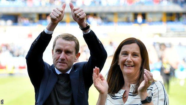Dean Hoyle and his wife Janet