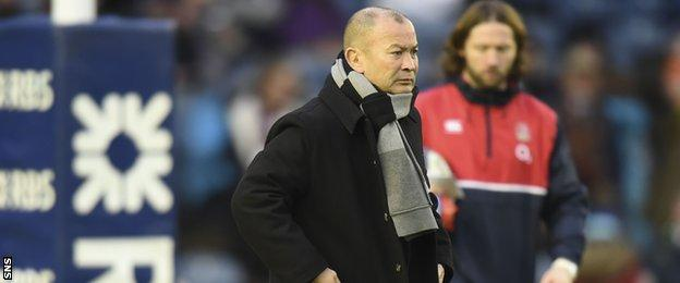 Eddie Jones remains unbeaten as head coach of England