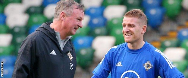 Michael O'Neill and Steven Davis