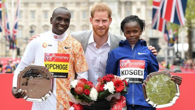 London Marathon 2020: Women's world record holder Brigid Kosgei to defend title thumbnail