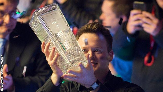 Shaun Murphy won the Welsh Open in 2020 with victory over Kyren Wilson in the final.