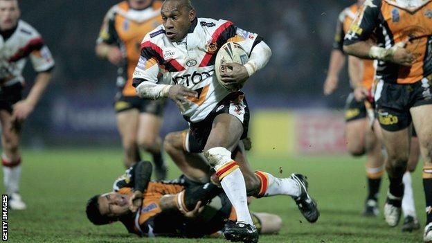 Stanley Gene in action for Bradford