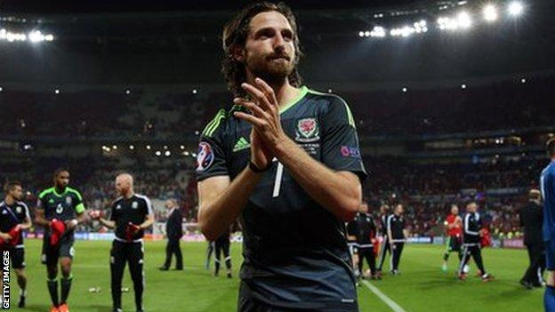 Joe Allen is one of a crop of Wales' Euro 2016 heroes taking their experience into coaching