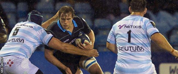 Glasgow skipper Jonny Gray
