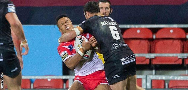 James Maloney's high hit on Regan Grace