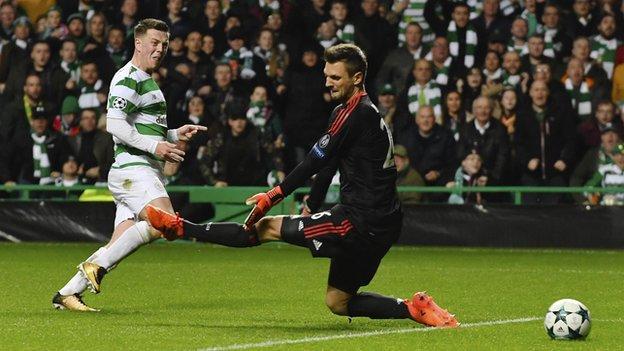 Celtic midfielder Callum McGregor