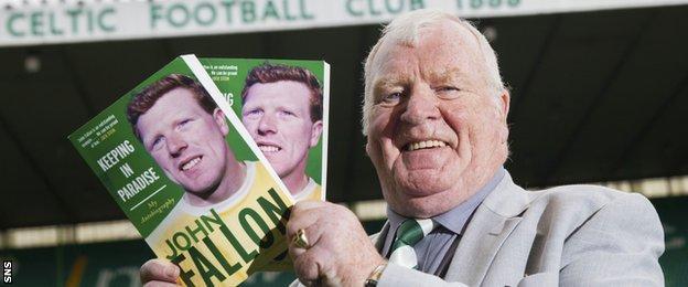 Former Celtic goalkeeper John Fallon