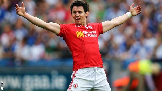 Mattie Donnelly wins a first All Star after a string of fine displays for Tyrone in 2015