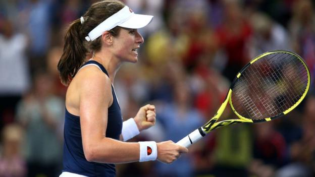 Fed Cup: Great Britain hope to persuade Johanna Konta to play thumbnail