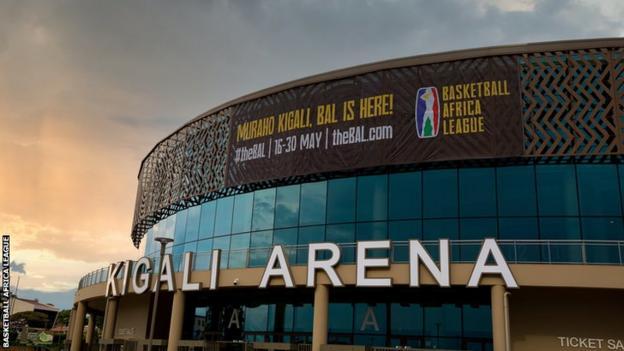 The Kigali Arena in Rwanda will host the inaugural Basketball Africa League