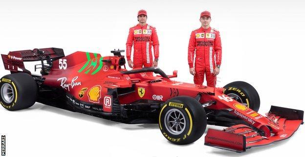 The new Ferrari SF 21