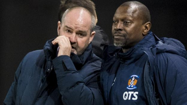 Steve Clarke: Kilmarnock boss upset by 'sectarian' abuse in Rangers defeat thumbnail